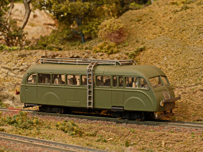Atlas Editions Railcar